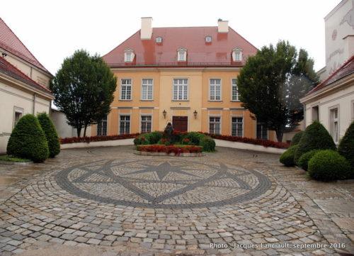 Résidence de l'archevêque, île Ostrów Tumski, Wrocław, Pologne