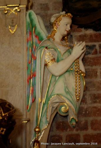 Statues de l'église Saint-Jean-Baptiste, île Ostrów Tumski, Wrocław, Pologne