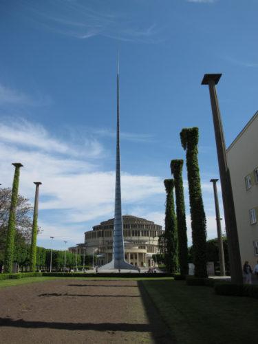 L'Aiguille, Halle du Centenaire, Wrocław, Pologne