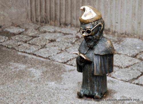 Petits nains de bronze, Wrocław, Pologne