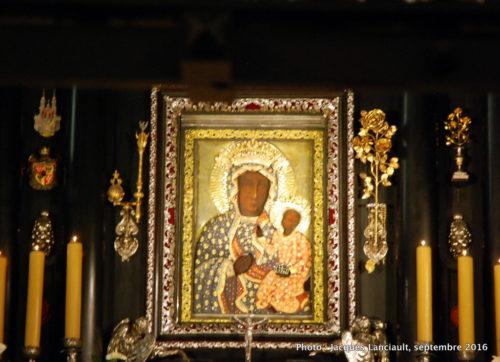 La Vierge noire de Jasna Gora, Częstochowa, Pologne