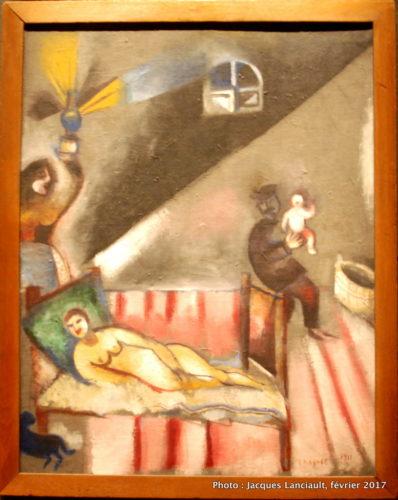 La naissance, Marc Chagall, 1911, MBAM