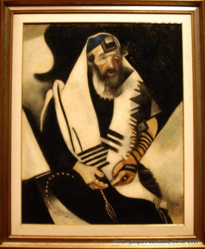 Le rabbin de Vitebsk, Marc Chagall, MBAM