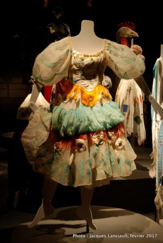 Costumes pour la pièce de théâtre Aleko, Marc Chagall, 1942, MBAM
