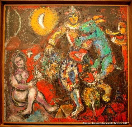 Esquisse pour Nu mauve, Marc Chagall, 1967, MBAM
