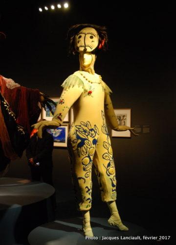 Costumes pour l'Oiseau de feu, Marc Chagall, 1949, MBAM