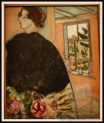 Belle au châle, Marc Chagall, 1914, MBAM