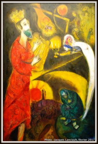 Le Roi David, Marc Chagall, 1993, MBAM