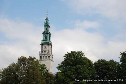 Clocher du sanctuaire de Jasna Góra, Częstochowa, Pologne