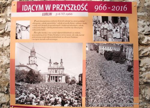 Entrée du sanctuaire de Jasna Góra, Częstochowa, Pologne
