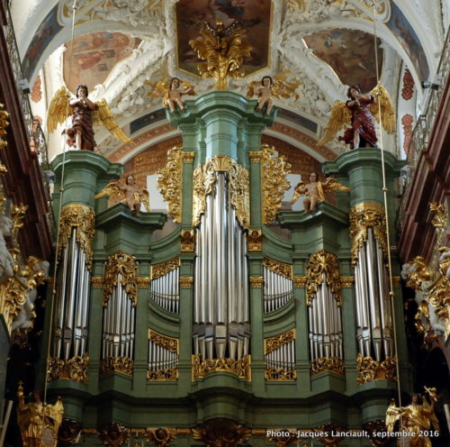 Basilique de la Sainte-Croix et de la naissance de la Vierge Marie, sanctuaire de Jasna Góra, Częstochowa, Pologne