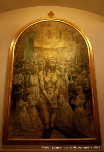 Golgota Jasnogórska de Jerzy Duda-Gracz, sanctuaire de Jasna Góra, Częstochowa, Pologne