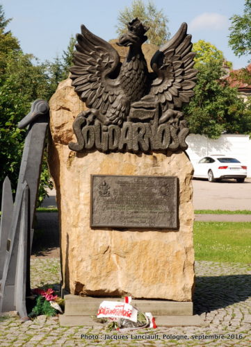 Monument à Solidarność, Wadowice, Pologne