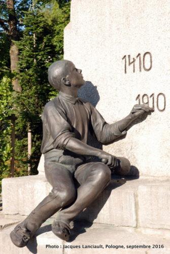 Monument du 500e anniversaire de la bataille de Grunwald, Zakopane, Pologne