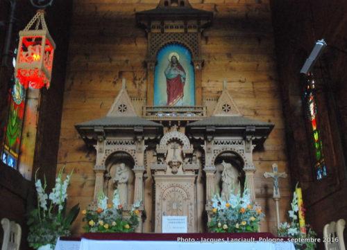 Chapelle du Cœur Sacré de Jésus, quartier Jaszczurówka, Zakopane, Pologne