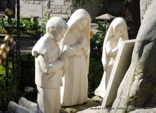 Monument de l'apparition de la Vierge Marie à Fatima, Zakopane, Pologne