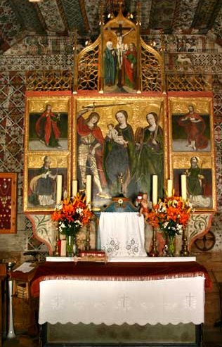 Église Saint-Michel Archange, Dębno, Pologne