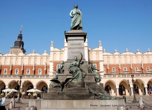 La Halle aux draps, Cracovie, Pologne