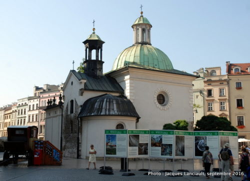 Église Saint-Adalbert, Cracovie, Pologne
