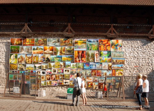 Porte Saint-Florian, Cracovie, Pologne