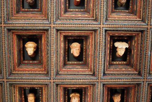 Salle du trône, château du Wawel, Cracovie, Pologne