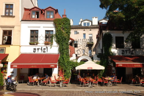 Le restaurant Ariel, Cracovie, Pologne