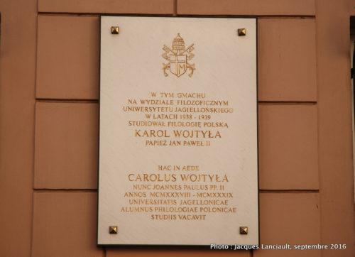 Université Jagellonne, Cracovie, Pologne