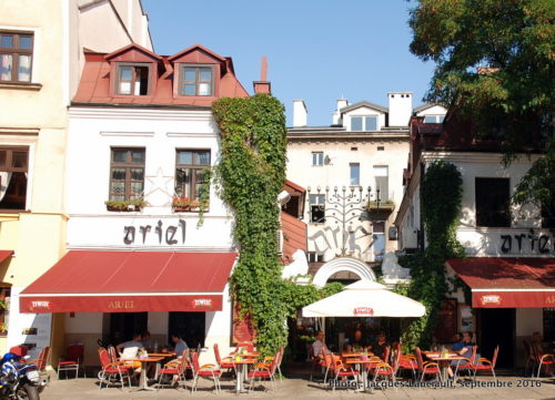 Café Ariel, Kazimierz, Cracovie, Pologne