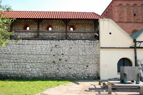 La vieille synagogue de Kazimierz, Cracovie, Pologne