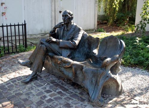 Statue de Jan Karski, Cracovie, Pologne