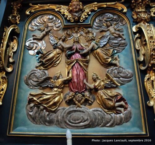 Chœur, basilique Notre-Dame, Cracovie, Pologne