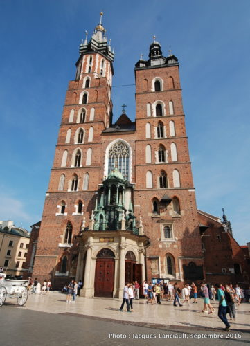 Basilique Notre-Dame, Cracovie, Pologne