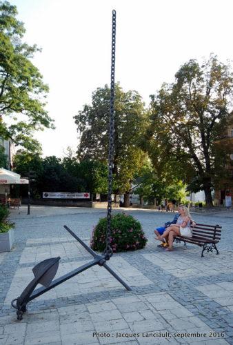 Grande place, Sandomierz, Pologne