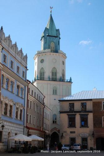 Porte des Trinitaires, Lublin, Pologne