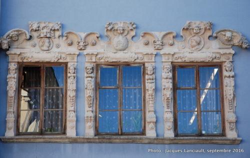 La maison bleue, Lublin, Pologne
