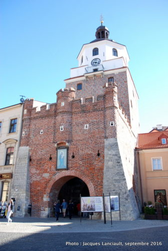 Brama Krakowska, Lublin, Pologne