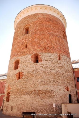 Donjon du château de Lublin, Pologne