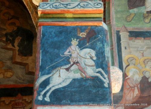 Fresques de la chapelle de la Sainte-Trinité, Lublin, Pologne