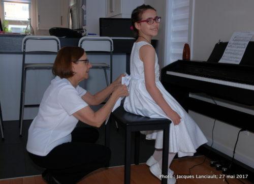 Première communion Chloé 27 mai 2017