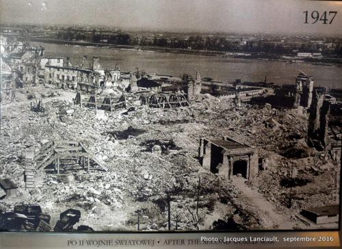Varsovie en 1947, Varsovie, Pologne