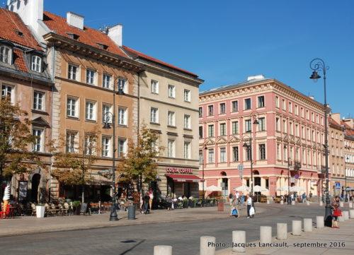 Rue du faubourg Cracovie, Varsovie, Pologne