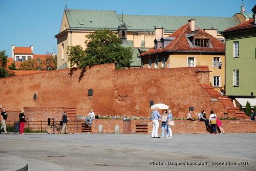 Place du château de Varsovie, Varsovie, Pologne