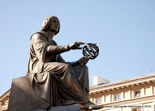 Monument Nicolas Copernic, Varsovie, Pologne