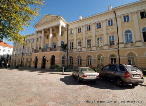 Université de Varsovie, Pologne