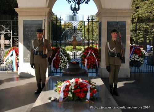 Mémorial du Soldat inconnu, place Piłsudski, Varsovie, Pologne