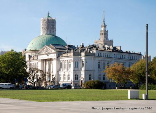 Édifices de Varsovie, Pologne