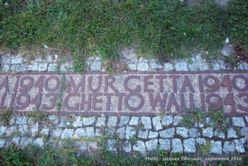 Ghetto juif, Varsovie, Pologne