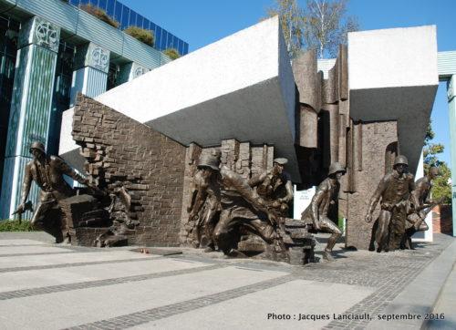 Monument de l'Insurrection de Varsovie de 1944, Varsovie, Pologne