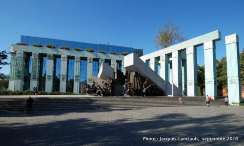 Monument de l'Insurrection de Varsovie, Varsovie, Pologne