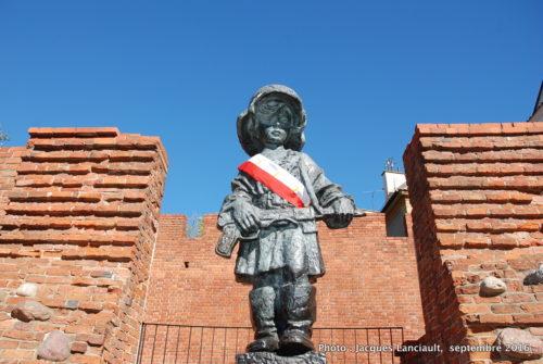 Petit Insurgé de Varsovie, Varsovie, Pologne